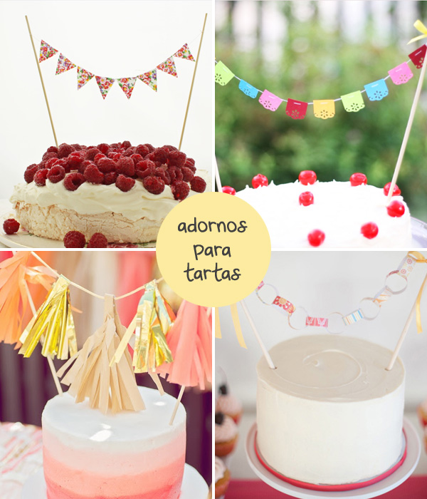 ideas para la decoracion de tartas