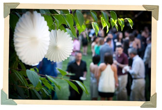 Fiesta comuni n ideas para la decoraci n en el jard n - Jardines decorados para fiestas ...