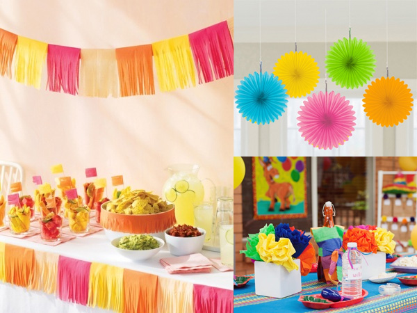 Fiesta 5 de mayo ideas para la decoracion revista - Ideas para decorar fiestas ...