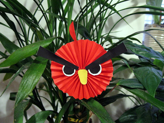 ideas para la decoracion de una fiesta Angry Birds