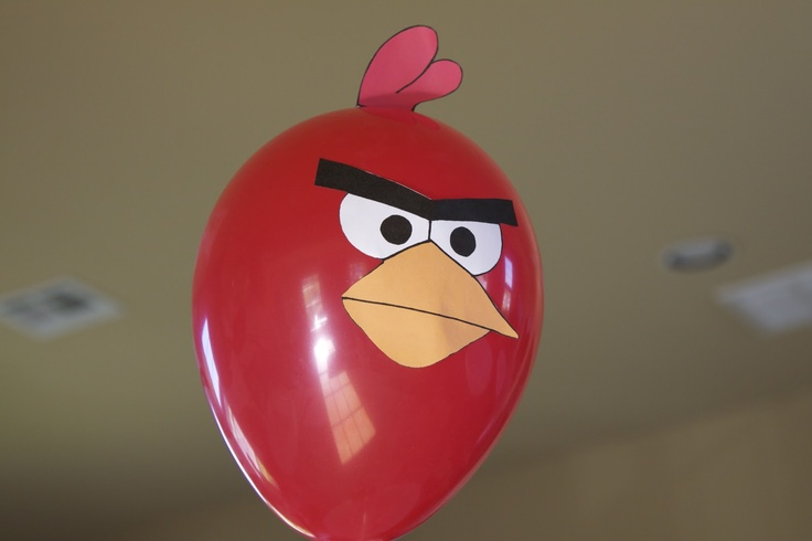 globos latex Angry Birds stuffandthings