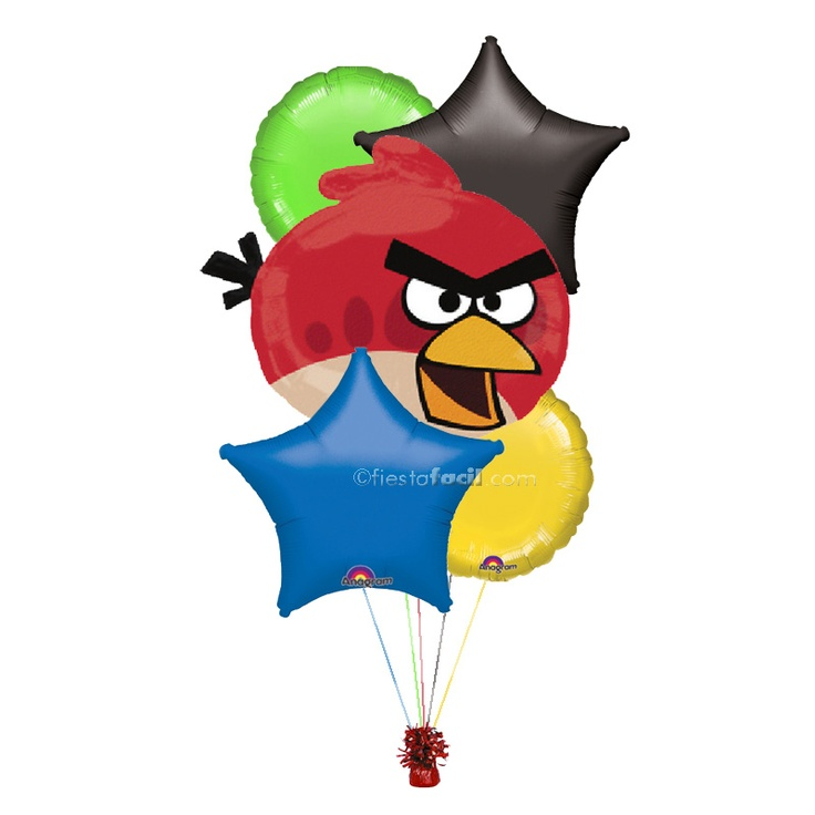 ideas decoracion fiesta Angry Birds