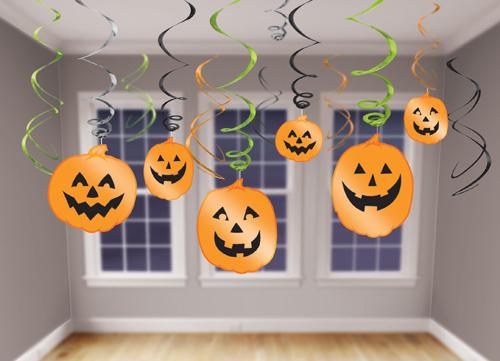 Fiesta halloween infantil ideas para la decoraci n - Decoracion calabazas para halloween ...