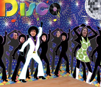 Fiesta disco ideas para la decoraci n revista fiestafacil for Decoracion 70 80