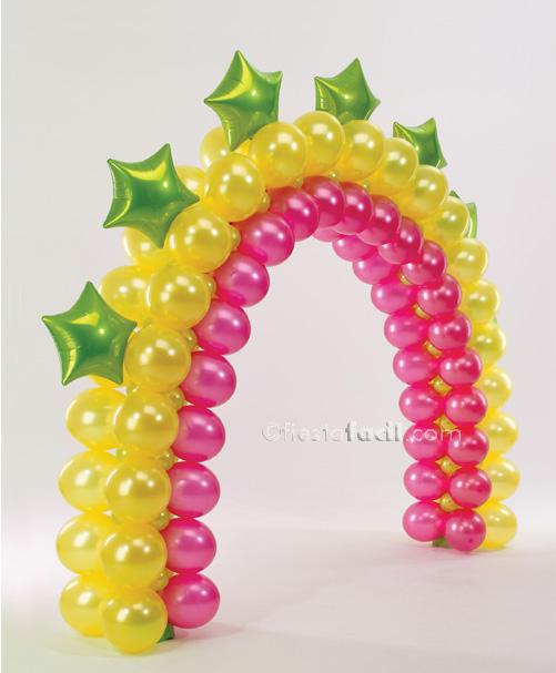 Decoración con globos: Los arcos - Revista - Fiestafacil