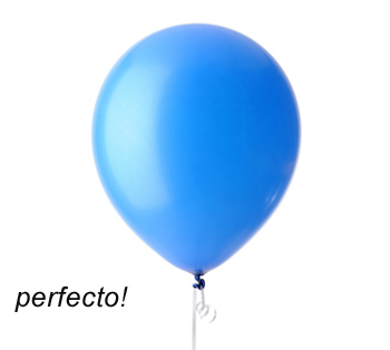 C mo no inflar un globo revista fiestafacil - Como conseguir globos de helio ...