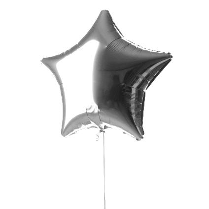 un globo foil con forma de estrella