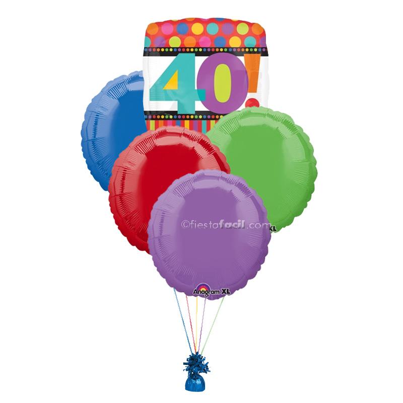 Fiesta 40 cumpleaños: Ideas - Revista - Fiestafacil