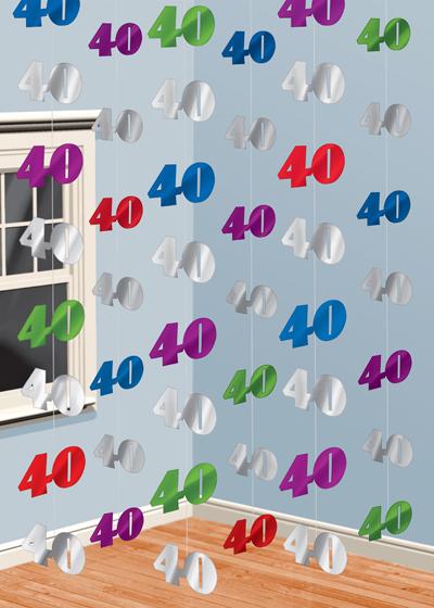 Fiesta 40 cumplea os ideas revista fiestafacil - Hacer cuadros originales para salon ...