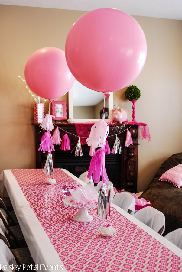 Fiesta Princesa Ideas Para La Decoracion Revista Fiestafacil - Decoracion-mesas-fiestas