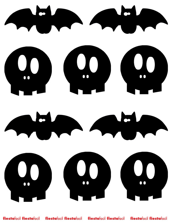 Fiesta halloween imprimibles para halloween 2012 - Plantillas para decorar calabazas halloween ...