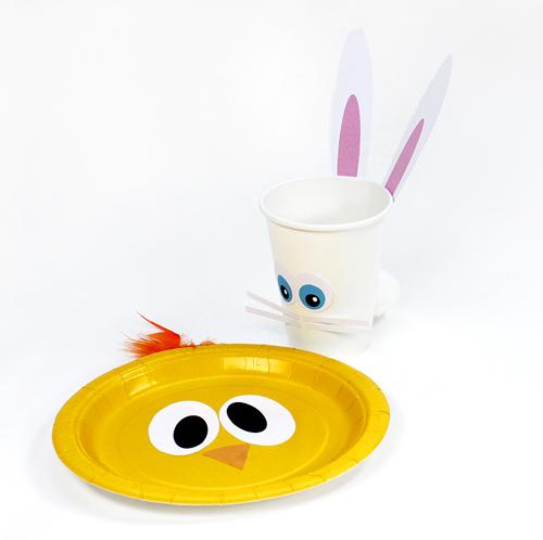 Fiesta primavera: Imprimibles gratuitos - conejitos y pollitos ...