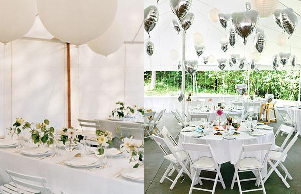 decoracion boda con globos