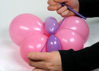 Decoracin con globos Cmo hacer una mariposa de globos Revista