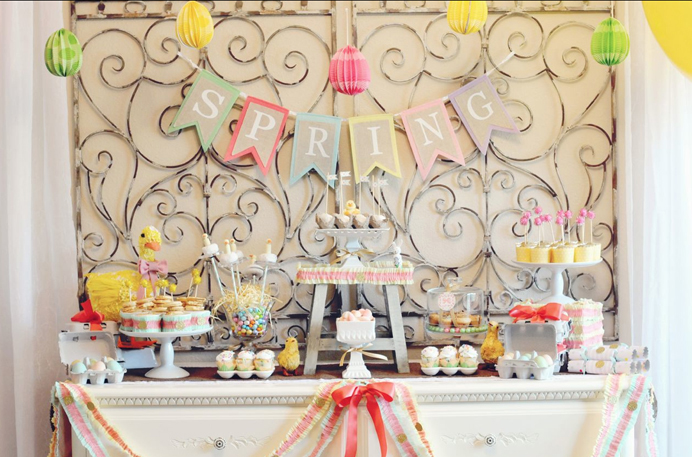 Fiesta de pascua ideas para la decoraci n revista for Decoracion de pascua