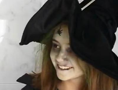 Disfraces Halloween Como Hacer Un Maquillaje De Bruja Revista - Maquillaje-bruja-para-nia