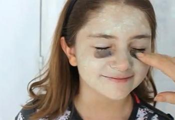 Disfraces halloween c mo hacer un maquillaje de bruja - Como pintar la cara de nina de bruja ...