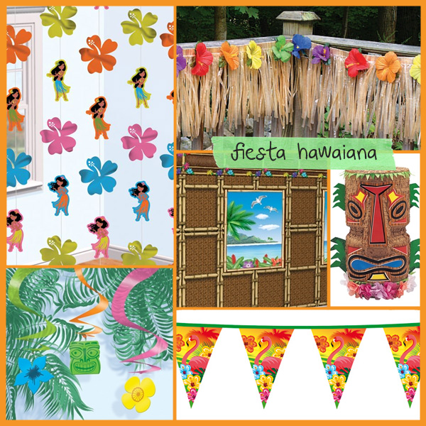 Decoracion hawaiana - Ideas decoracion fiesta ...